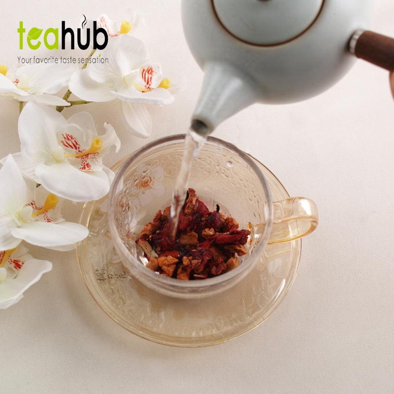 德国进口覆盆果子宫卵巢巴黎香榭花果茶水果朗姆酒花果茶新西兰