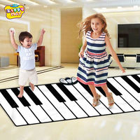 Young children, boys and girls, baby, pedal, electronic piano, dancing, foot, piano blanket, puzzle, 1-9, gift, toys