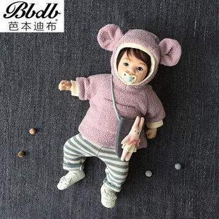 童装婴儿外套秋冬装女童上衣衣服冬季棉衣男宝宝女宝宝外出棉服袄