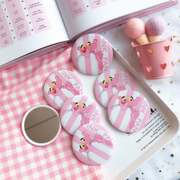 Recommended Japanese Harajuku girl Sakura magic carry small round mirror mini cute cartoon makeup mirror cute