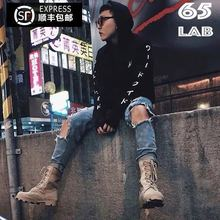 Shunfeng Baoyou genuine spot Rothco Army Boots GD Kanye of the same style men and women spring and summer tooling boots tidal shoes