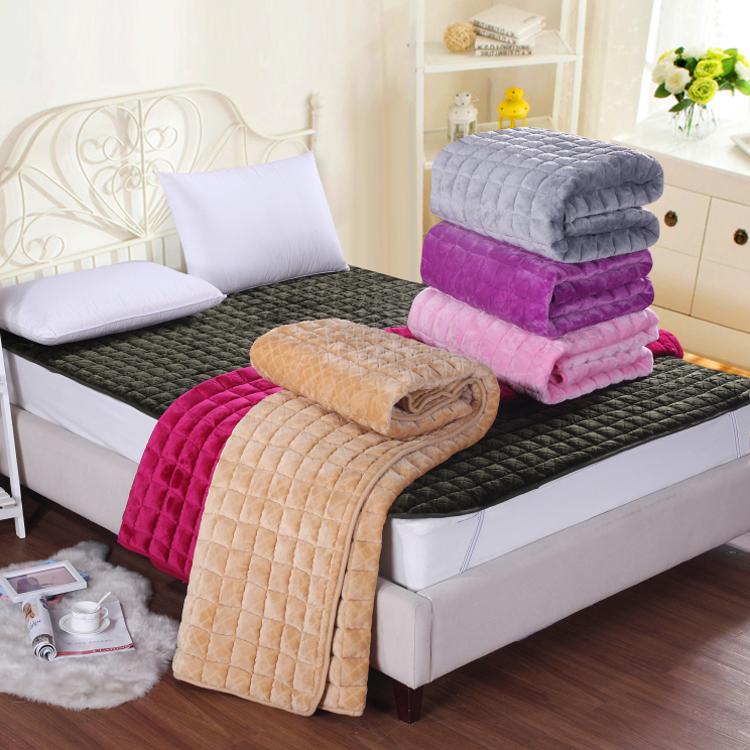 冬天床垫绒