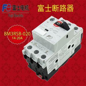 FUJI常熟富士BM3RSB-020 断路器14-20A空气开关 带漏电保护器空开