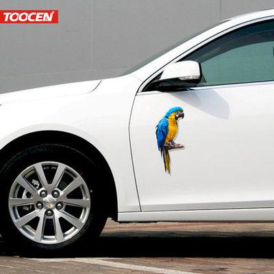 汽车贴纸改装 个性创意3d立体车贴车身遮挡划痕贴纸车门刮痕贴画