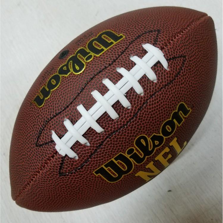 正品维尔胜wilson NFL美式6号比赛橄榄球青少年学生专用比赛球