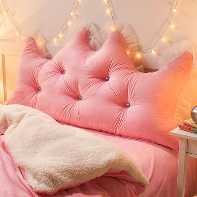 纯色大靠背/韩式蕾丝边大靠背床头靠垫公主风