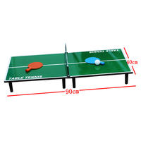 Large indoor mini table tennis table game folding table tennis table parent-child desktop game entertainment competitive ping pong
