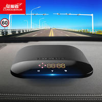 Conqueror electronic dog speed radar 2018 new wireless cloud automatic upgrade vehicle mobile safety early warning instrument