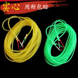Fishing lost rope automatic retractable fish versatile high elastic thick solid rubber protective rod rope fishing gear