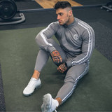 Muscle Fitness Suit Male Brothers Dog Morning Running Clothes Training Suit Gymnasium Sports Suit Spring and Autumn Tide