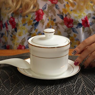 骨瓷炖盅汤盅带盖汤盅炖罐隔水盅小炖盅燕窝碗汤煲炖汤陶瓷蒸盅