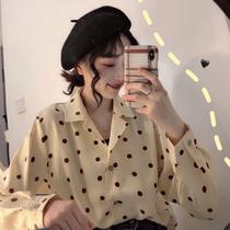 年春季气质时尚女装经典条纹套头衬衫2017