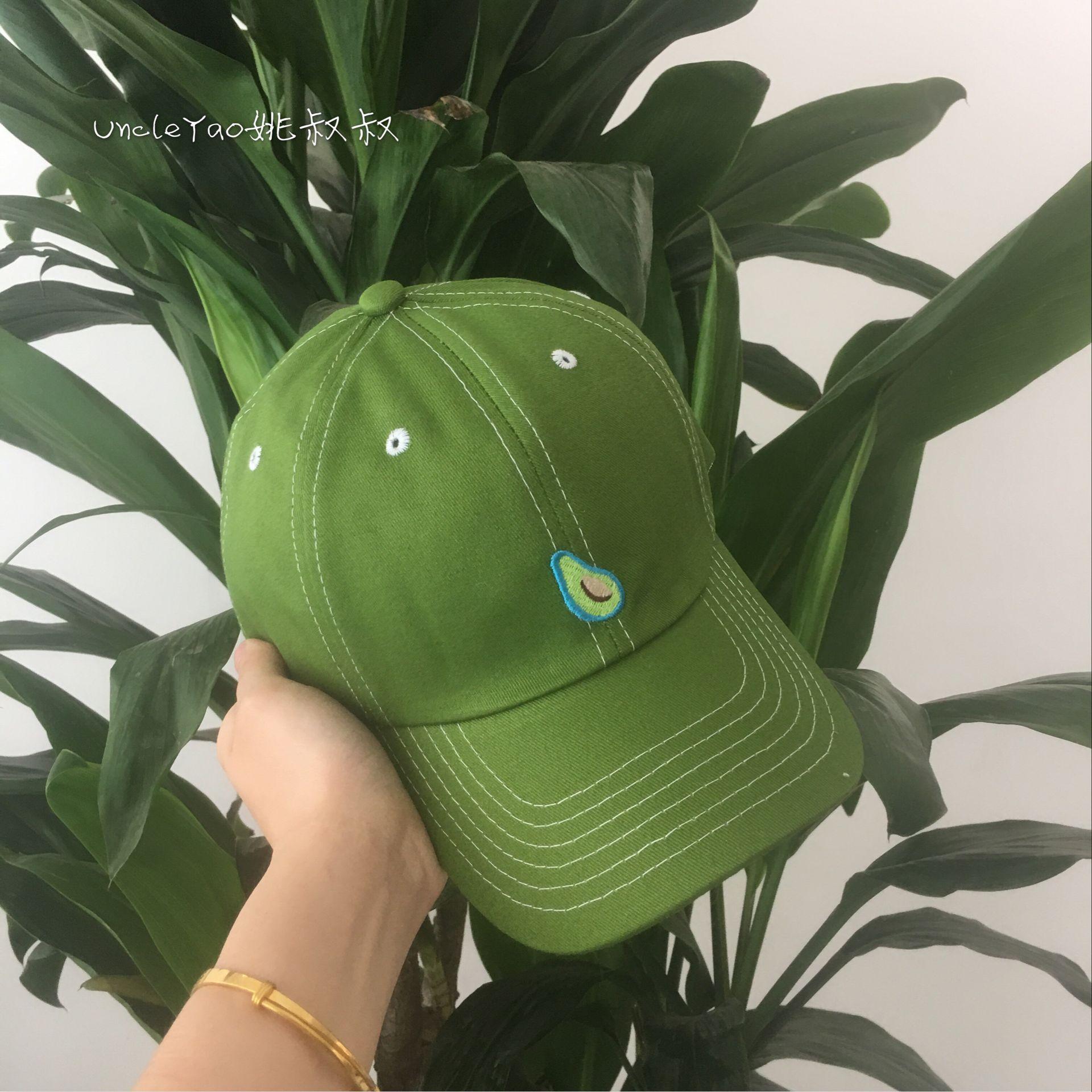 绿色的帽子