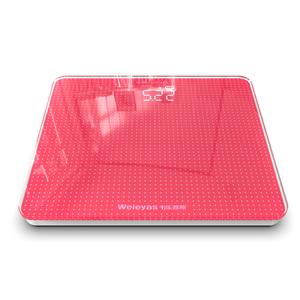 韦乐雅斯电子称体重秤精准家用人体秤成人减肥称女生迷你体重计器