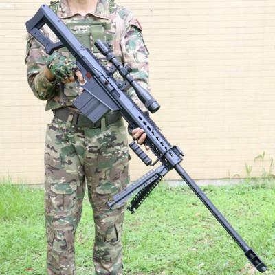 泽桦巴雷特电动连发水弹枪绝地求生吃鸡狙击枪真人儿童玩具枪男孩