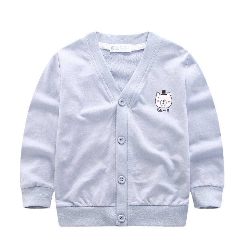 女童外套春秋季男童多色卡通薄开衫儿童纯棉上衣宝宝休闲百搭上装