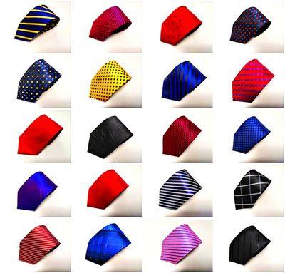 领带男士商务正装结婚新郎 休闲8CM手打条纹领带婚纱服装红黑