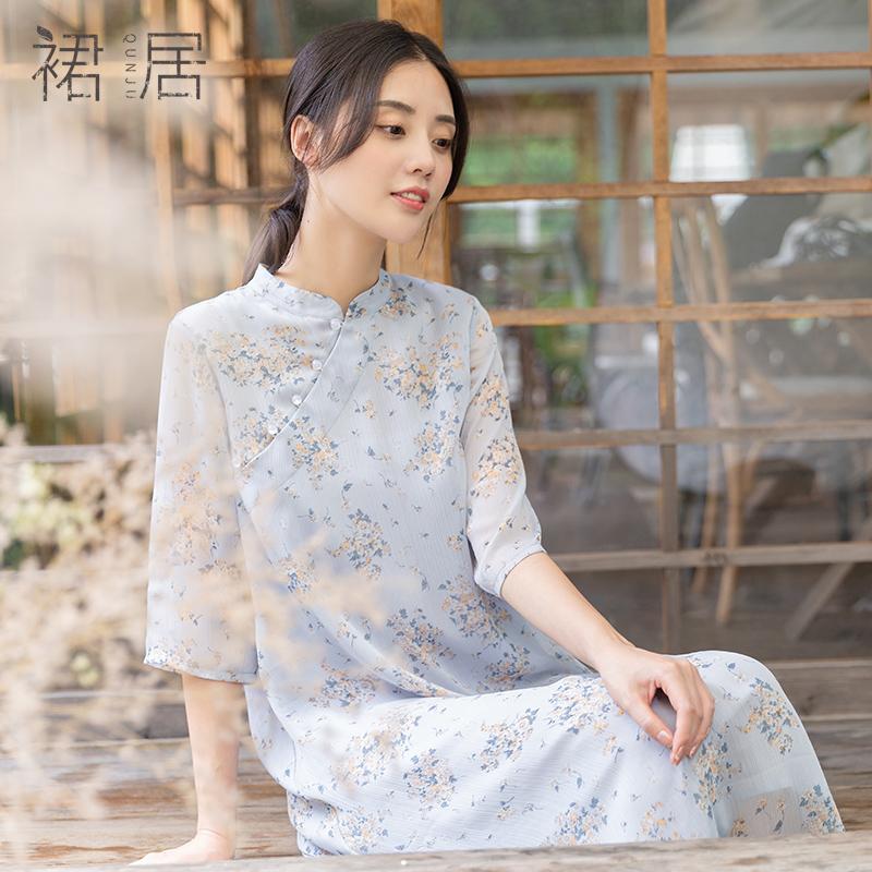 裙居L193334旗袍
