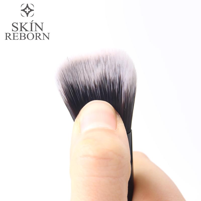 化妆刷粉底刷软毛面膜刷纤维bb霜刷不吃粉初学者粉刷扁头美妆工具