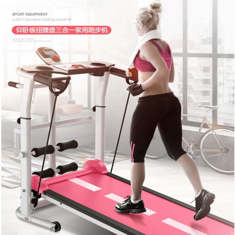 平板跑步机家用款室内女走步健身房二手迷你小米简易小型可折叠式