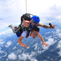 China's domestic Tianjin, Shanghai, high-altitude skydiving wing flight