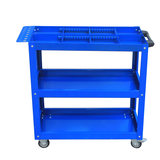 Yiming tool trolley multi-function barrier hardware tools three-layer parts car assembly repair turnover trolley