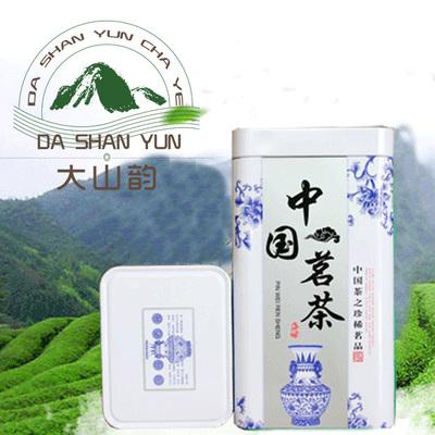 寿宁高山茶绿茶2018新茶特级春季云雾香茶散装125g罐装茶叶龍山