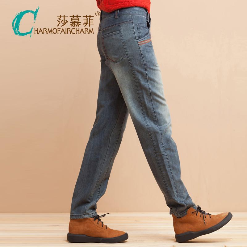 风格显瘦牛仔裤