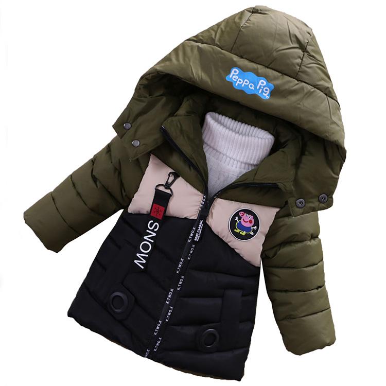 童装男童女童棉衣2017新款宝宝冬装加厚棉袄0-4岁小儿童棉服外套