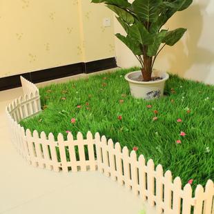 塑料栅栏围栏花坛栅栏田园小篱笆庭院室内白色幼儿园圣诞装饰围栏