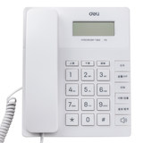 Effective wired telephone 779 free battery fixed telephone home office caller display landline large button telephone