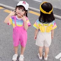 Children's Day Children's Performance Costumes Girls Handsome Summer Classes Kindergarten Graduation Dance Clothes Boys Show Costume Cool