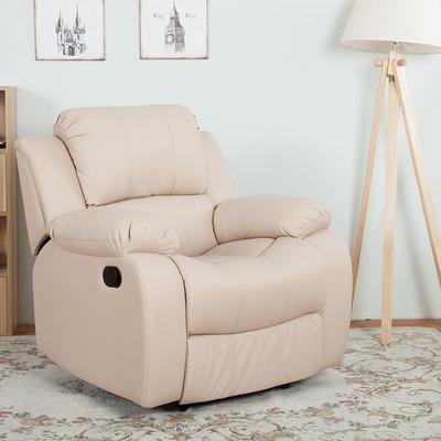 可拆洗皮沙发多功能布艺沙发单人欧式影院网咖美甲美睫平躺电脑椅网上商城