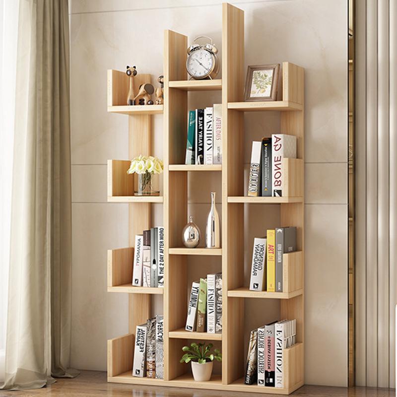 Aoerpu 简易书架落地客厅置物架卧室儿童书柜办公室组装收纳简约