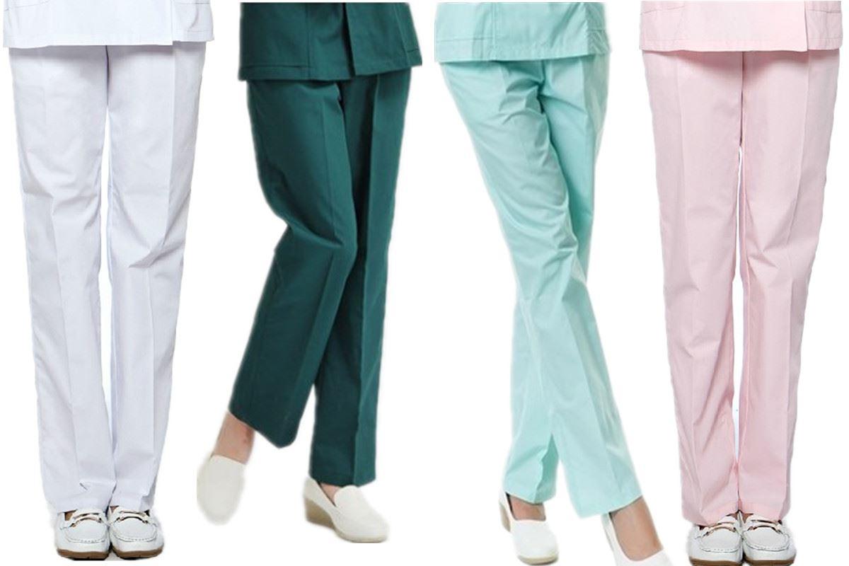 护士裤急救服裤子男女款手术室急诊室医生工作服裤子墨绿手术裤