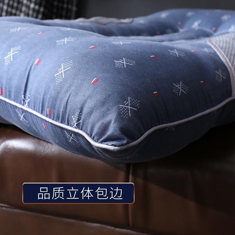 北极绒决明子枕头单人枕芯护颈枕颈椎保健磁石按摩枕学生