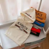 2018新款韩版童装儿童毛衣男女童带帽背心休闲马甲小童针织衫马夹