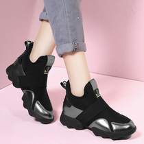 Todays popular brand shoes 2019 spring shoes female new summer Korean version of Harajuku large size sports shoes women thick bottom