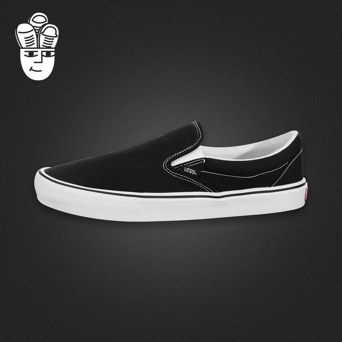 Vans Slip-On Lite 范斯男子休闲板鞋 轻便帆布鞋