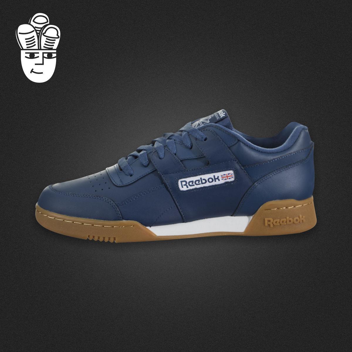 Reebok Workout Plus 锐步男鞋 运动休闲鞋 经典板鞋