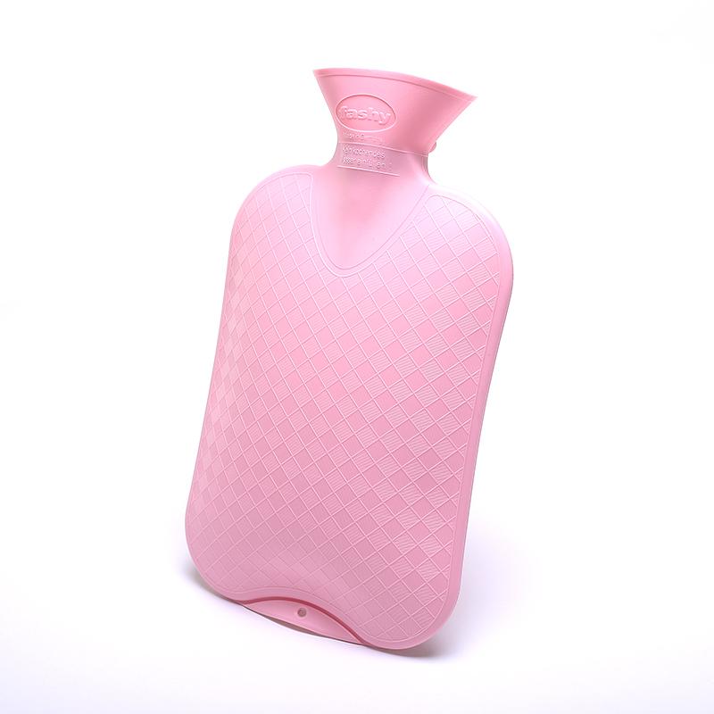 德国进口Fashy防爆pvc充注水灌水热水袋可爱儿童成人暖水袋暖手宝