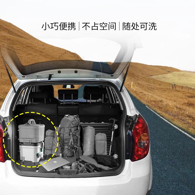 莱姆D2锂电池洗车机无线充电式洗车神器40V车载便携式高压清洗机