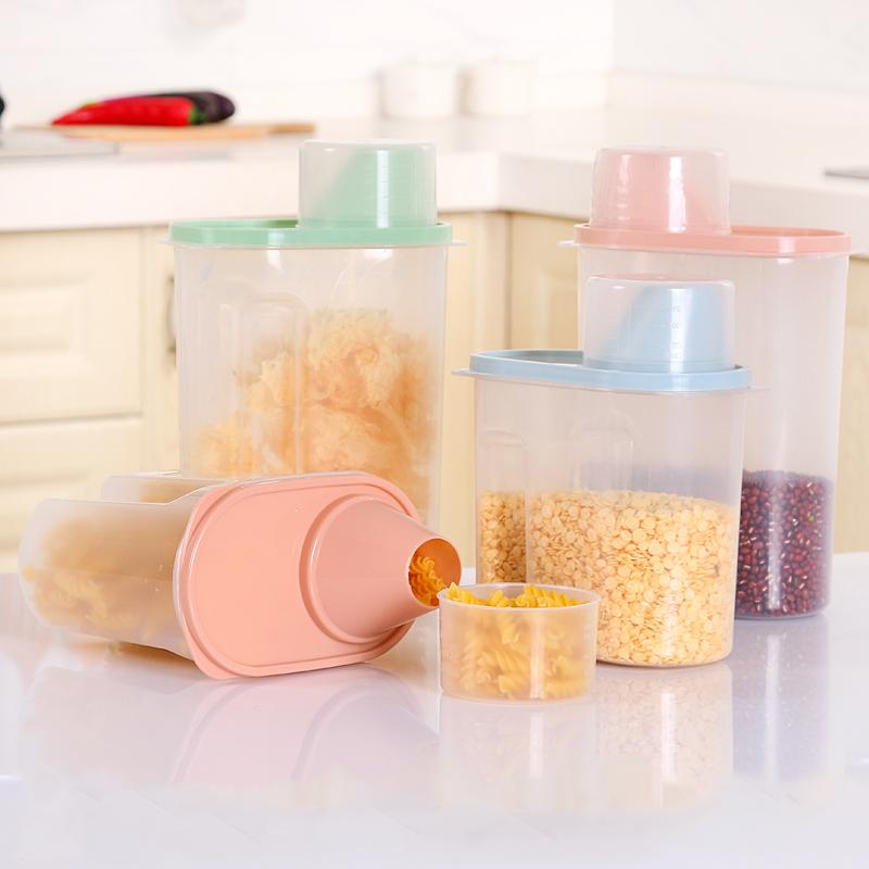 防潮透明食品罐