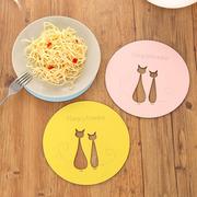 木质隔热防烫餐盘垫桌垫杯垫餐垫碗垫子日式锅垫餐桌防水茶杯盘垫