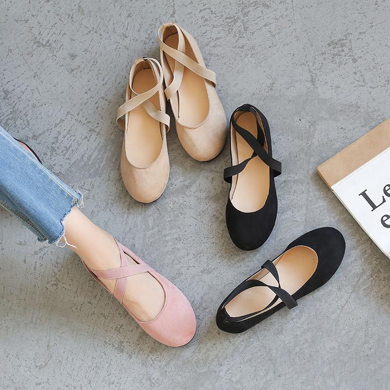 秋季单鞋森女