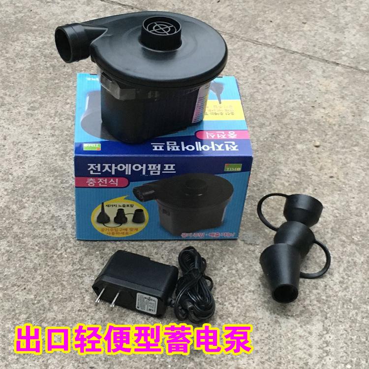小型蓄电泵电动气泵电动充气泵充气床放气抽气电泵放气泵