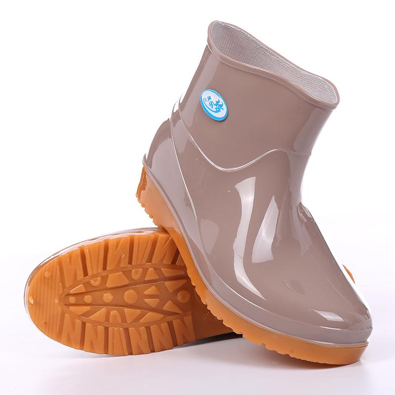 包邮低帮雨鞋女短筒防滑耐磨轻便防水鞋工作胶鞋套鞋春夏秋鞋