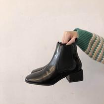 冬季女鞋防滑保暖短靴白棉鞋加绒加厚东北棉靴厚底中筒雪地靴女靴