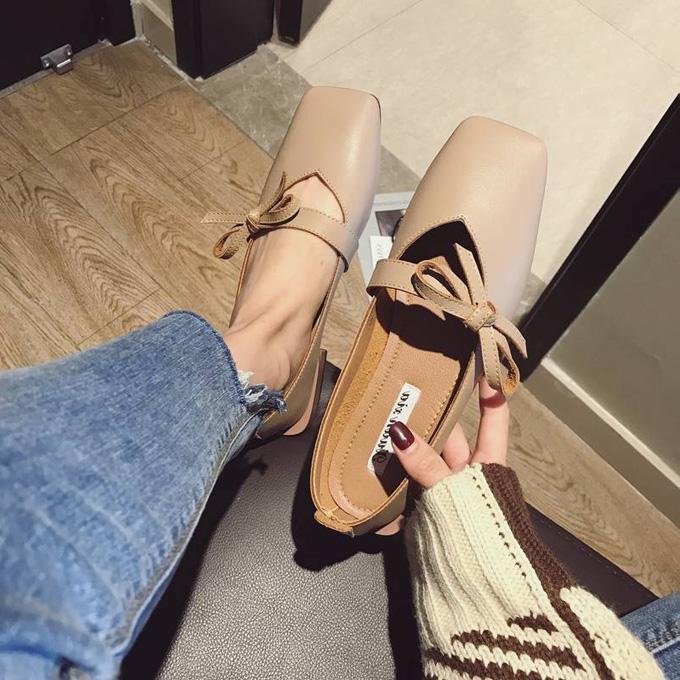 可爱单鞋子