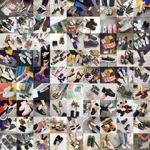 2019春季新款单鞋女名媛风气质时尚金属扣绒面浅口尖头女鞋工作鞋